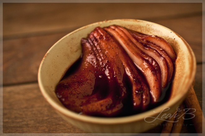 mulled wine pears2