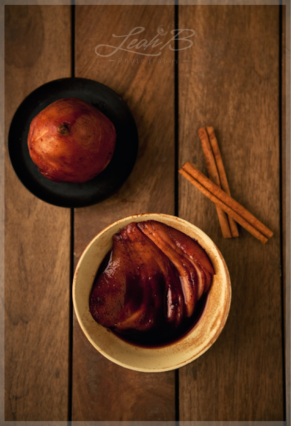 mulled wine pears3